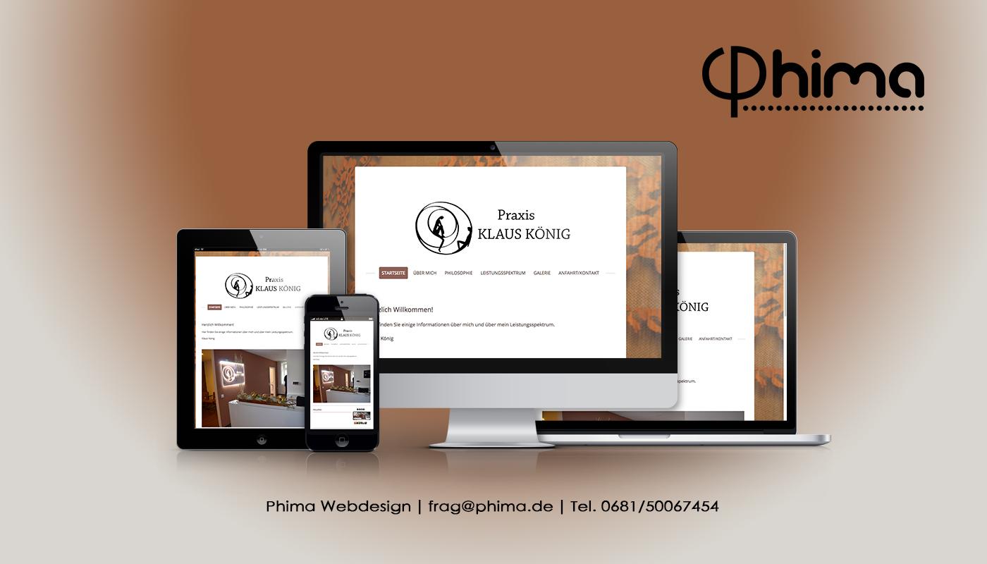 Webdesign – Praxis Klaus König